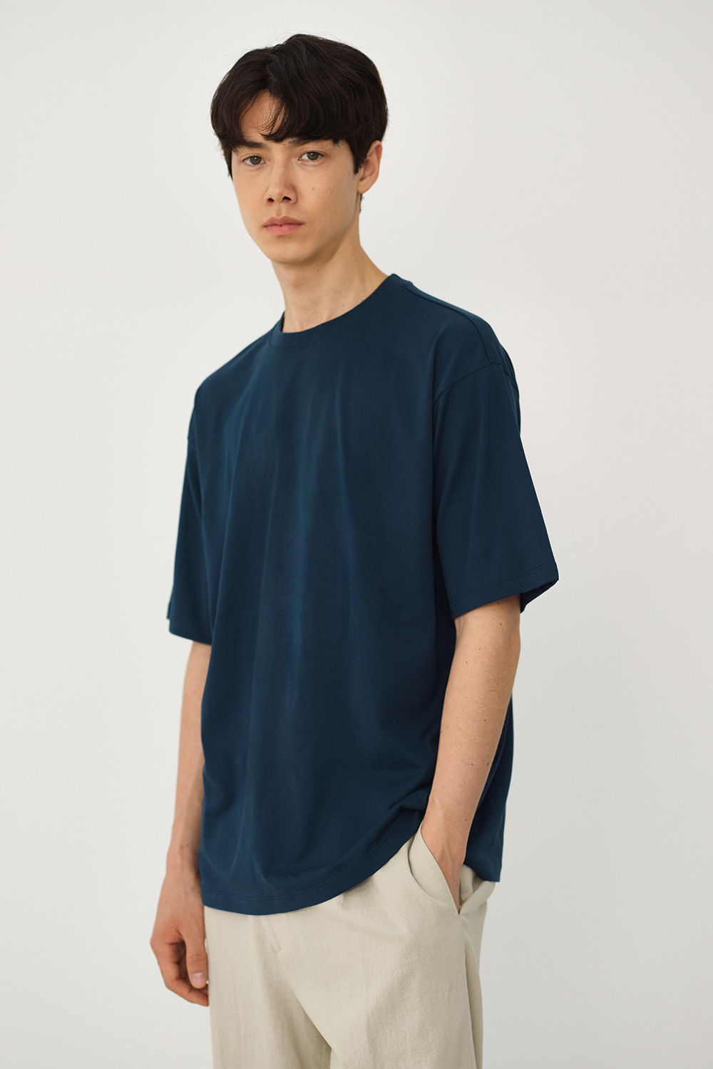 Premium Supima 100 Tee Men [Dark Blue]