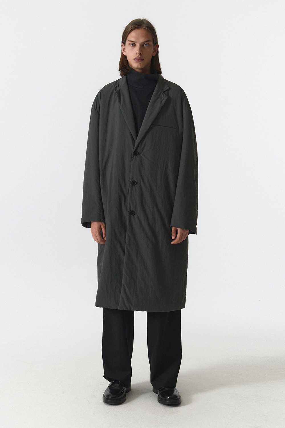 Padded Coat Men JA [Charcoal] -10%