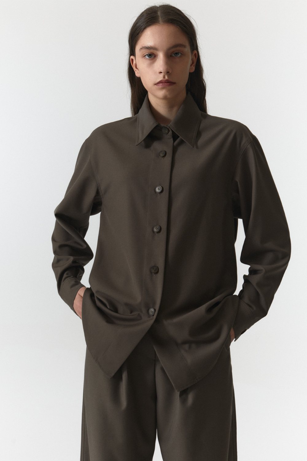 Over Shirts Women JA [Taupe]