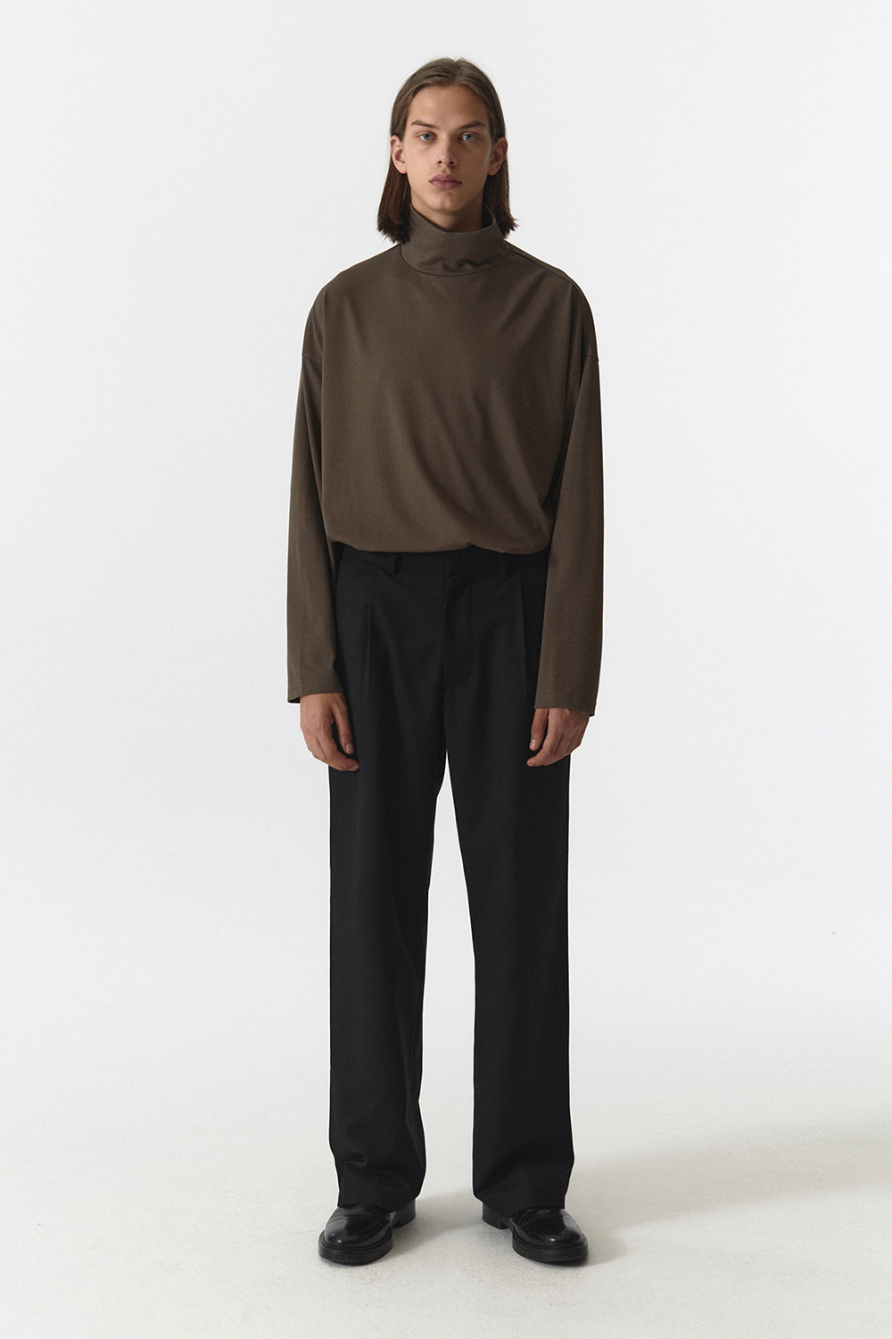 Wide Pants Men JA [Black]