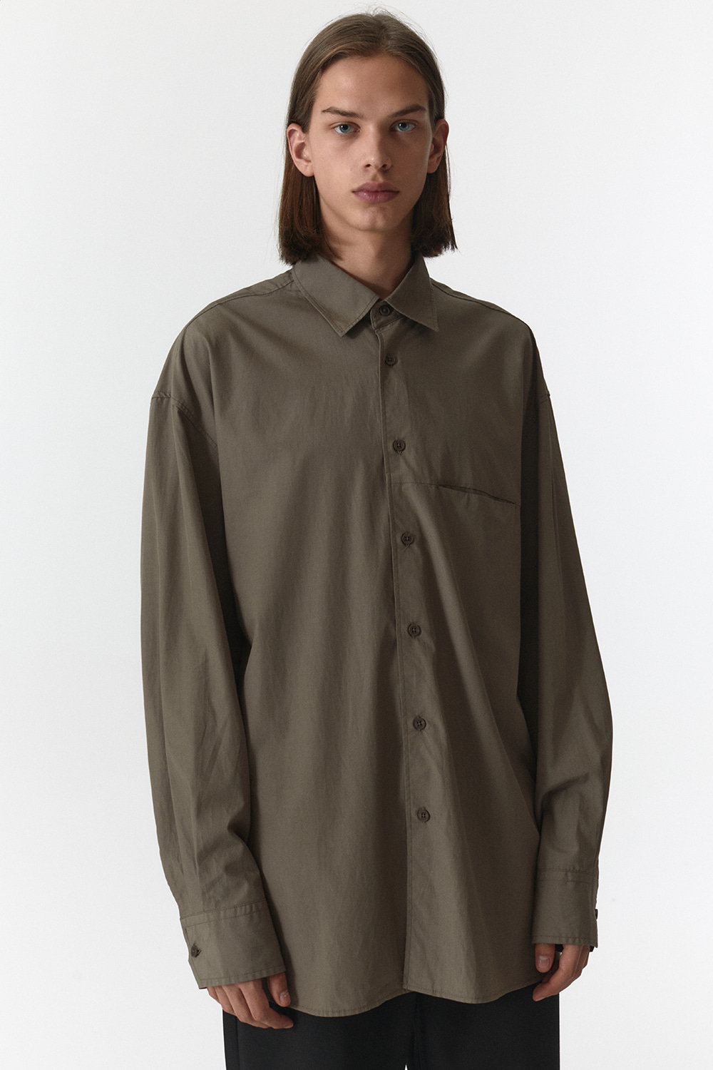 Overfit Shirts Men JA [Brown]