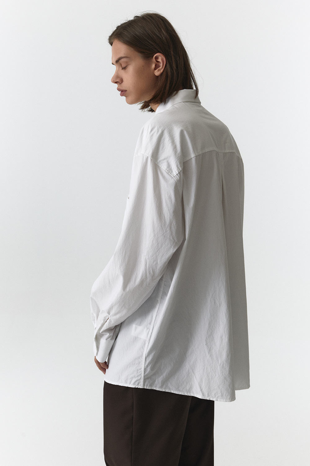 Overfit Shirts Men JA [White]