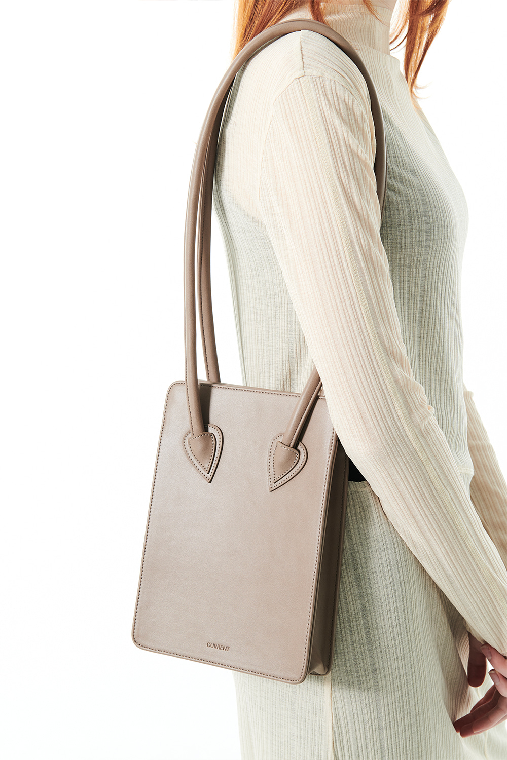 SQUARED MINI BAG KS [MOCHA]